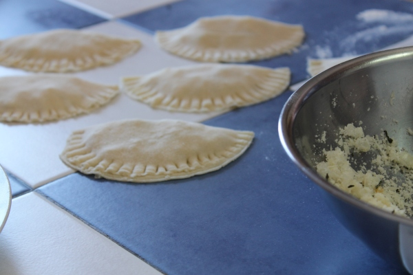 Recipe for Pitarakia - Greek cheese pies