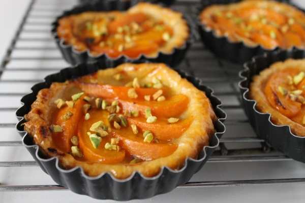 Culinary Correspondence - Apricot tartlets recipe