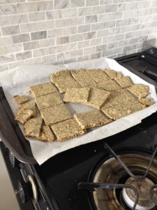 Zaatar Almond Crackers