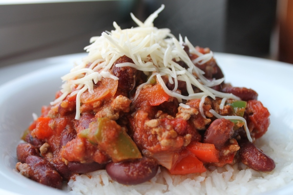 Chili con carne or meatless - Culinary Correspondence Blog