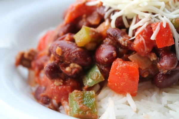 Chili with or without meat - Culinary Correspondence Blog