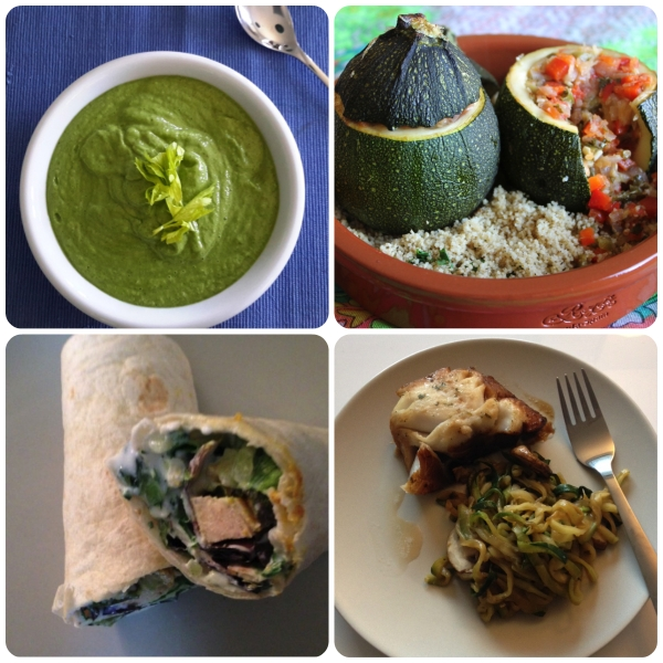 Spring resolution - healthy recipes for the season