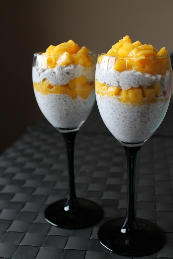 Mango and coconut milk chia seed pudding recipe - 2