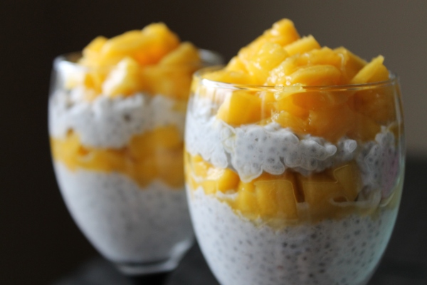 Mango and coconut milk chia seed pudding recipe - 4