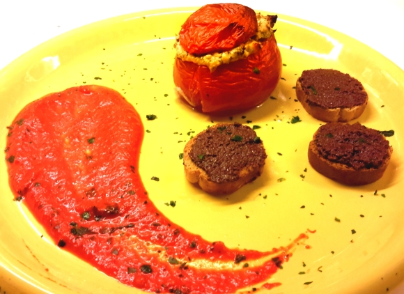 Moms stuffed tomatoes (2)